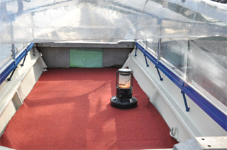 Special Winter Boats with heated seating